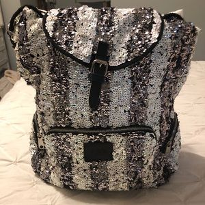 VS Pink sequined bookbag